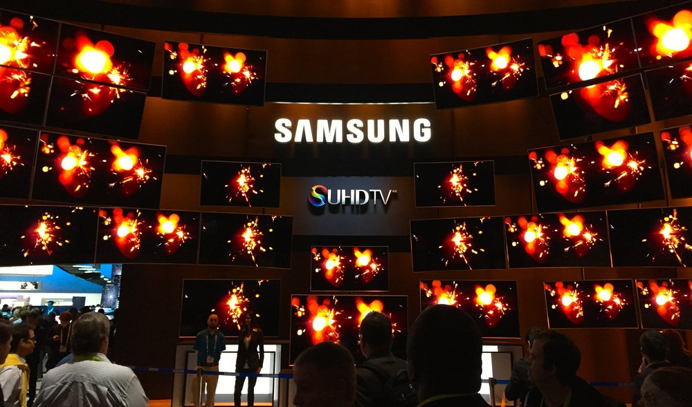 Samsung SUHD Quantum Dot TVs at CES 2015