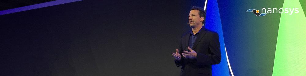 Nanosys CEO, Jason Hartlove, to speak at QD Forum 2019