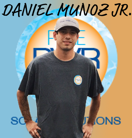 Daniel Jr. is the son of Danny and following right in his father's footsteps. Daniel is courteous and professional and will make sure your solar project is in tip-top shape!