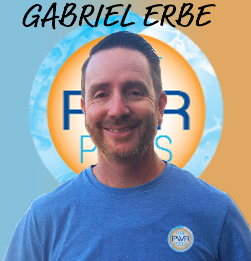 Gabriel Erbe is the Owner/Founder of Pure PWR Pools, Inc. With over 10 years experience working with pool equipment, Gabe's expertise will guarantee that you're happy with your experience!