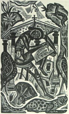 David Jones,  The Artist  (1927)