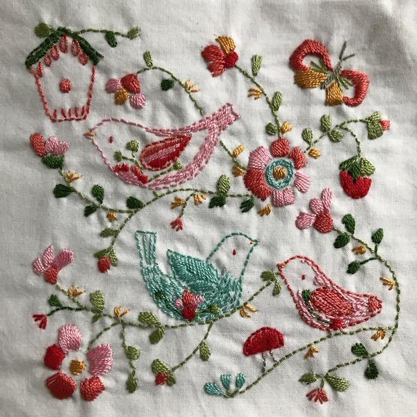 Happy Birds Stitchbook  with Charlotte, Jenn and Jone