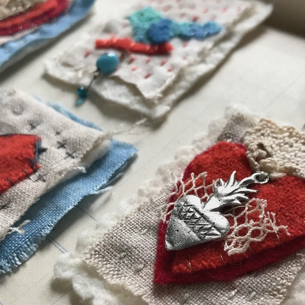 Pendants and Patches  with Charlotte