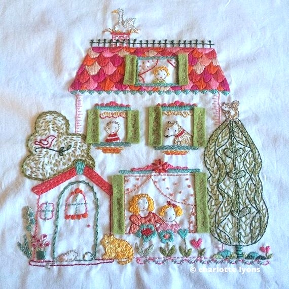 West End Embroidery Sampler