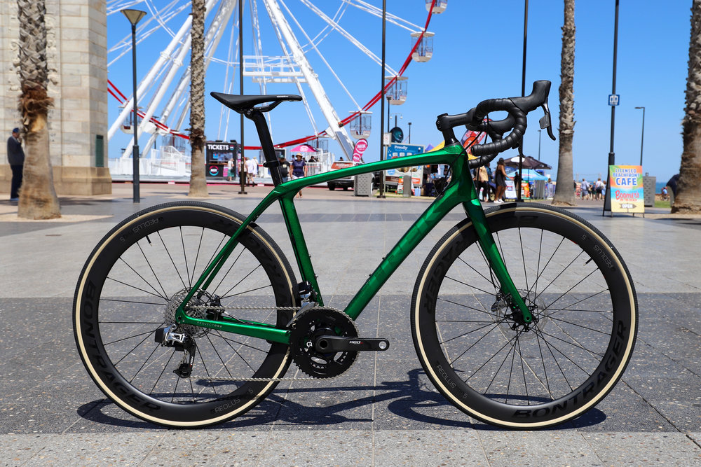 Domane SLR 9 Disc, Candy Emerald Green