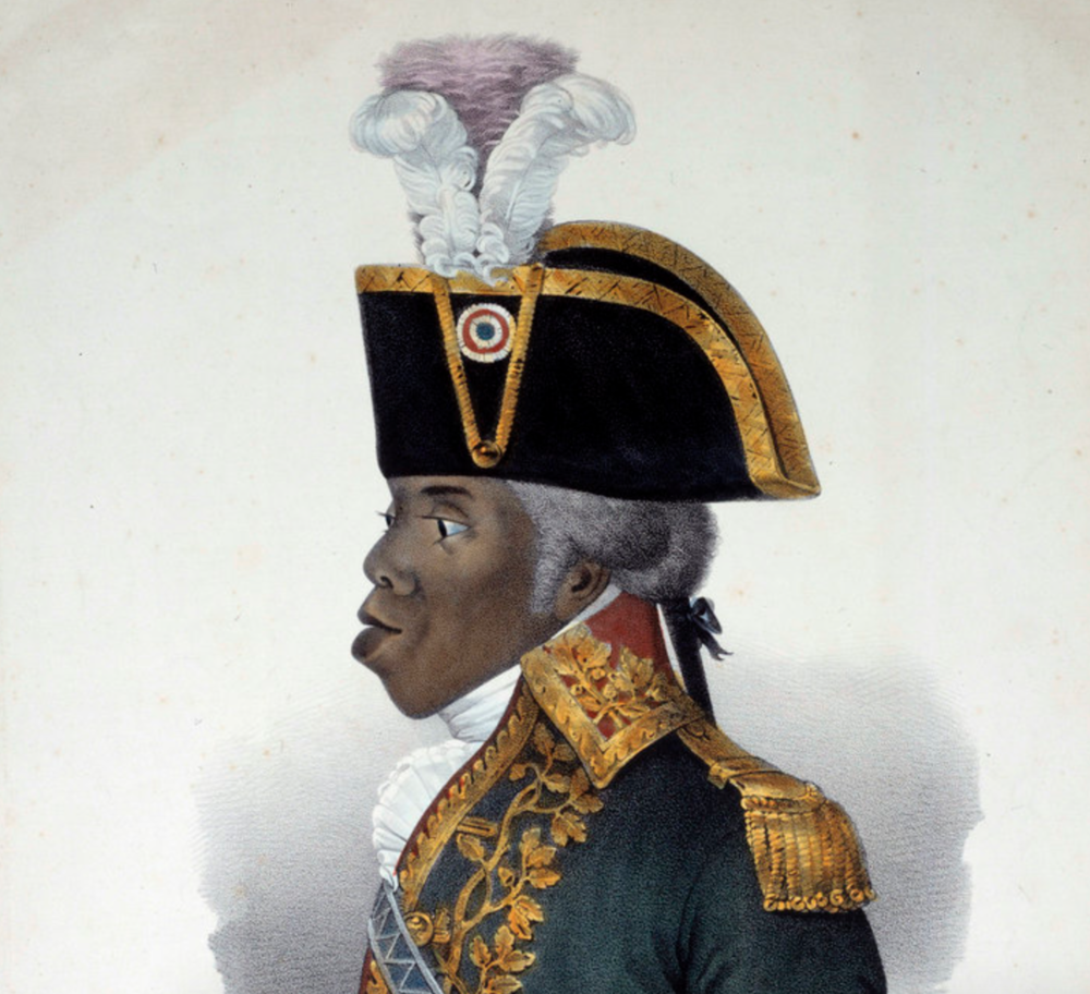 Portrait of Toussaint L'Ouverture (1743-1803) (Photo by Josse/Leemage).