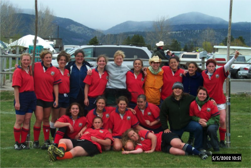 ORSU Women's Team circa 2002