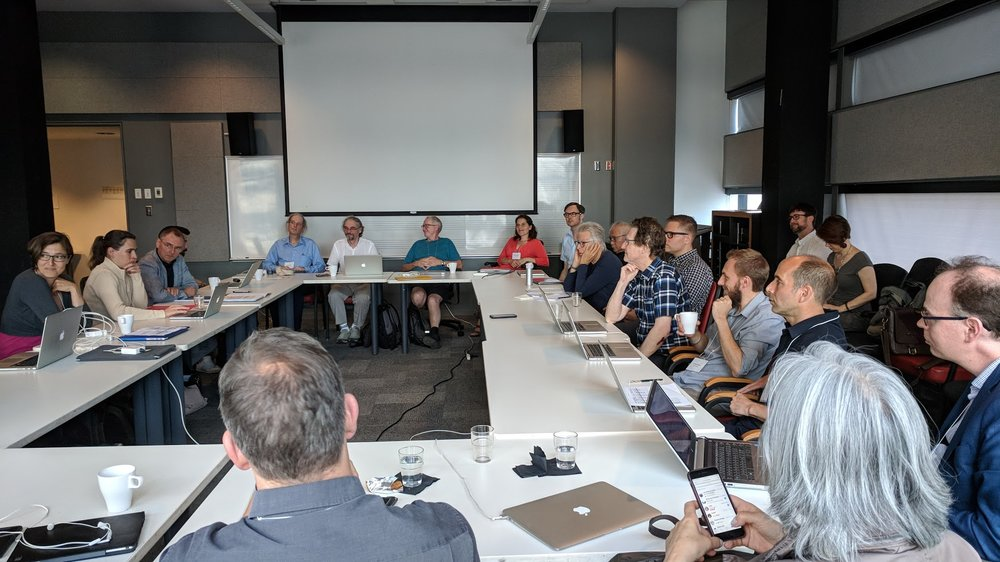 ACTOR Kickoff meeting, July 9-11, 2018. McGill University, Montreal, QC, Canada. Photo credit: Félix Baril