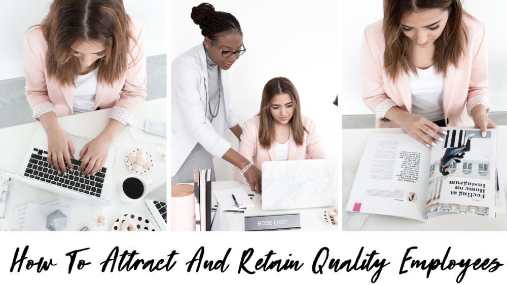 How To Attract And Retain Quality Employees | Is your company ready to attract and retain quality employees? Your employees are vital to your company, so it is crucial for you to keep them happy and excited to come into work every single day. This blog breaks down everything you need to know about attracting and retaining high-quality employees. #HumanResources #HR #BusinessManagement #CompanyCulture #EmployeeSatisfaction