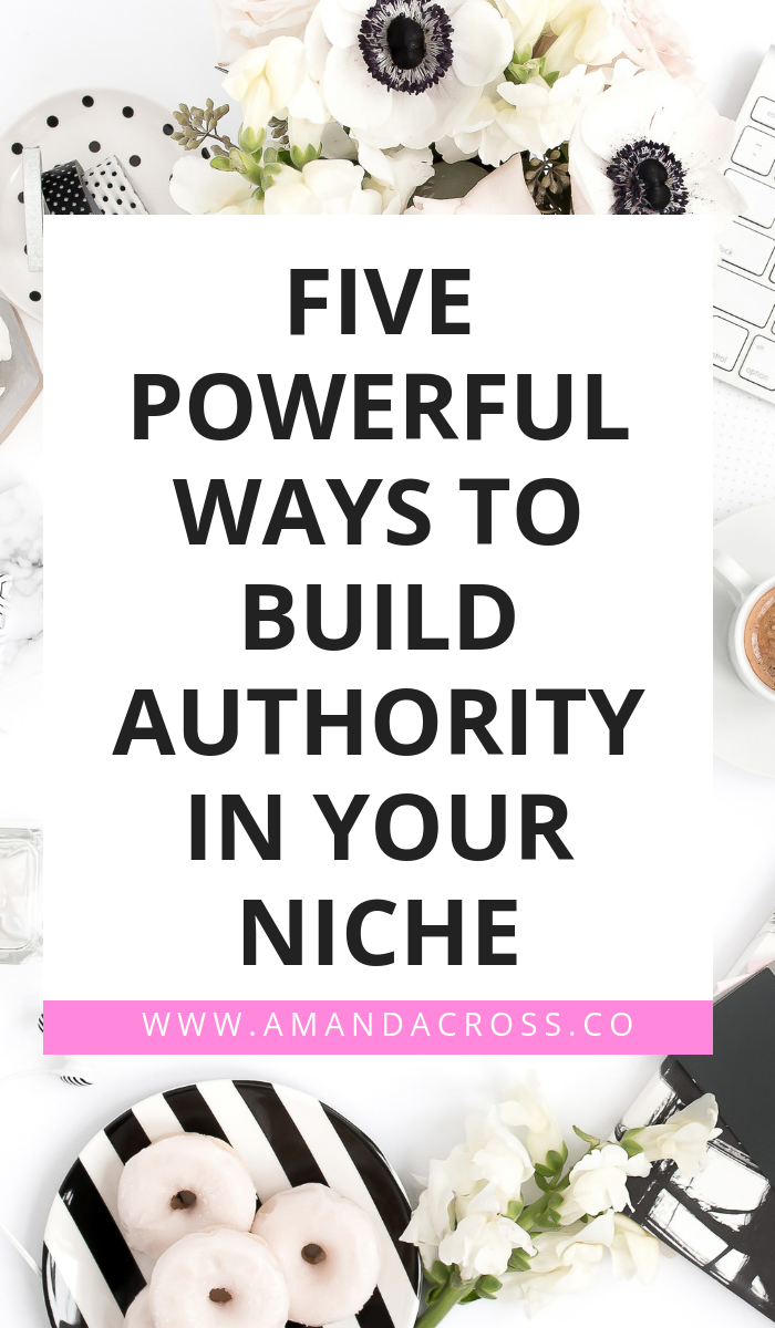5 Powerful Ways To Build Authority In Your Niche | Are you ready to build authority in your niche? Today on the blog, I am talking about five things you can start doing today that will help you become the authority you were always meant to be! #AuthorityBuilding #Networking #Business #BusinessAdvice #Entrepreneur #Solopreneur