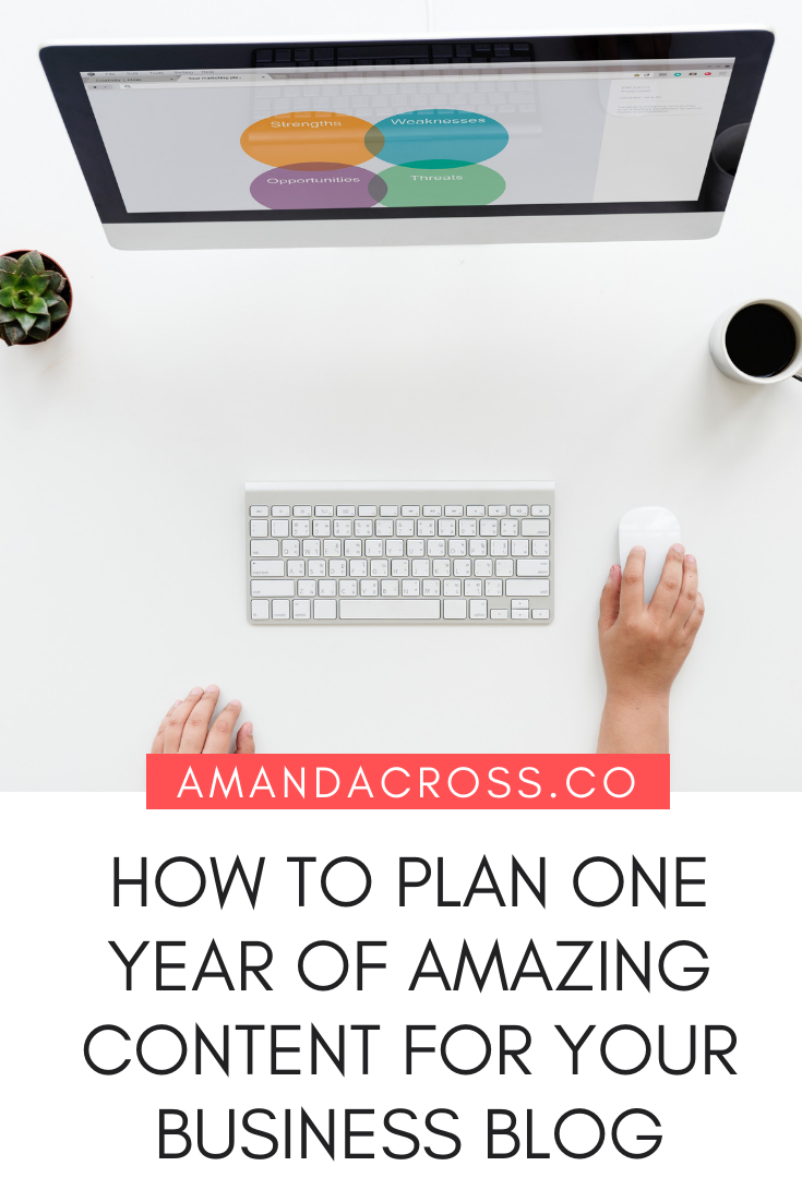How To Plan One Year Of Content For Your Business Blog | Creating a blog for your business can be quite difficult. You have other things to focus on, and you want to create content that brings readers and potential buyers to your site. Click through to learn how to plan a year's worth of content for your blog, so you never have to wonder what you need to post. #Content #ContentMarketing #BusinessBlogging