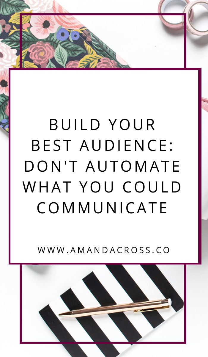 Don't Automate What You Could Communicate | Is automation hurting your business? If you are a small business, you need to take the time to build your social media platform before you automate too much of it. Check out my article for more information on why automation is not your friend in 2019! #SocialMedia #SocialMediaMarketing #SmallBusiness #SmallBusinessMarketing