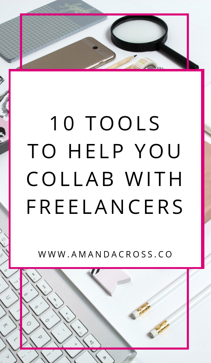 10 Tools To Help You Collaborate With Freelancers | From hiring freelancers to paying them what they are worth, I have the tools you need to collaborate with your favorite people. Go through this list with your team so you know all the tools you need to look into before you hire your first freelancer.