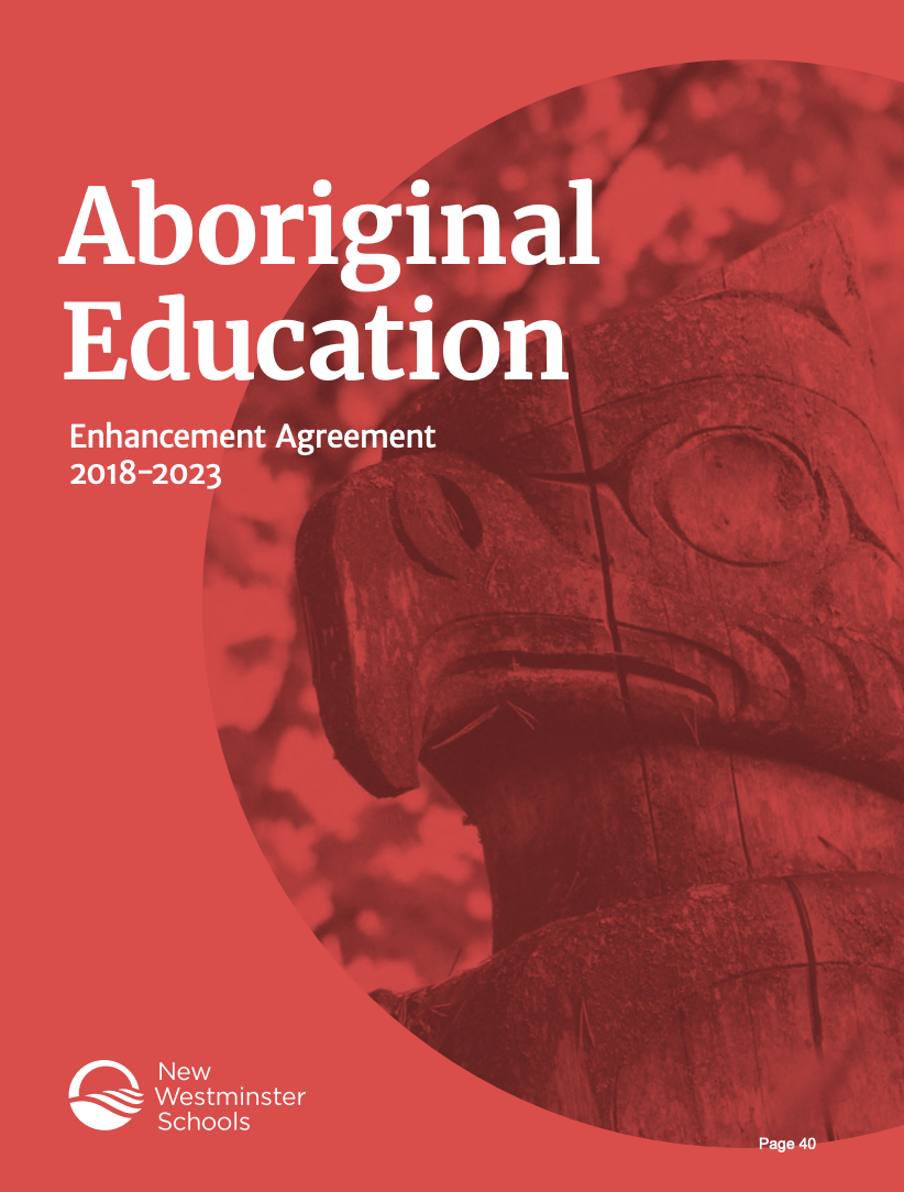 Check out the Aboriginal Education Enhancement Agreement