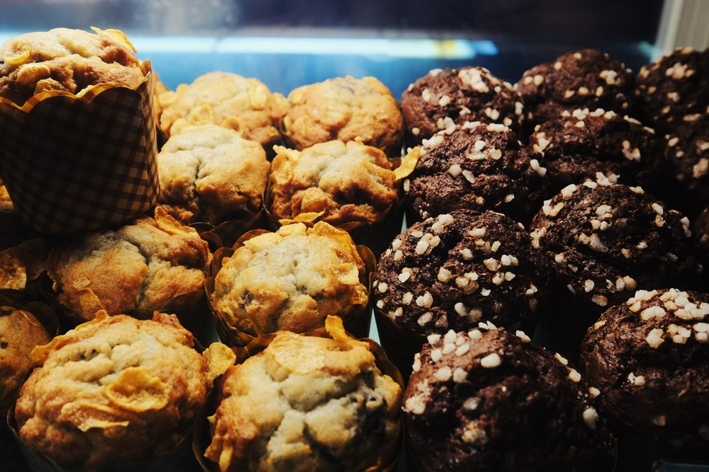 Muffins, Bagels and More… - Limited Gluten Free and Vegan Options