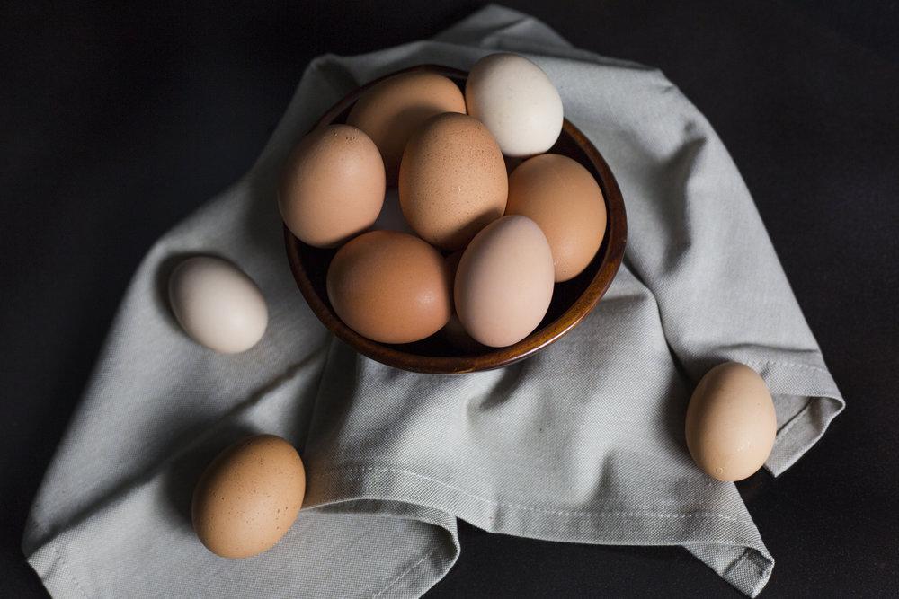 Organic Brown eggs - need i say more?