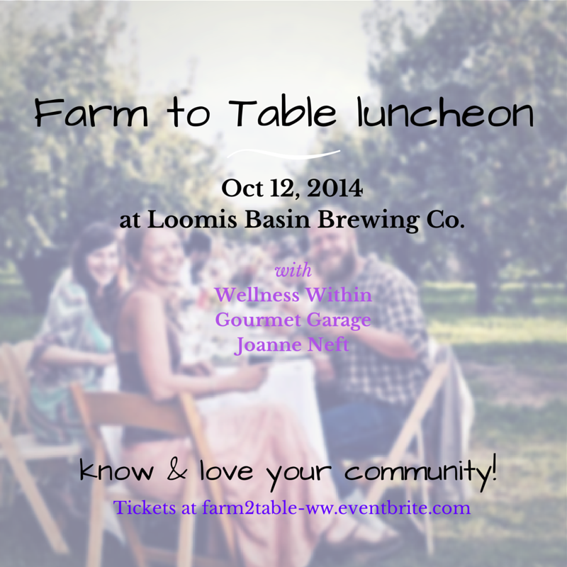 farm2table with