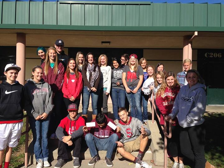 Union Mine High School surprise fundraiser for Wellness Within