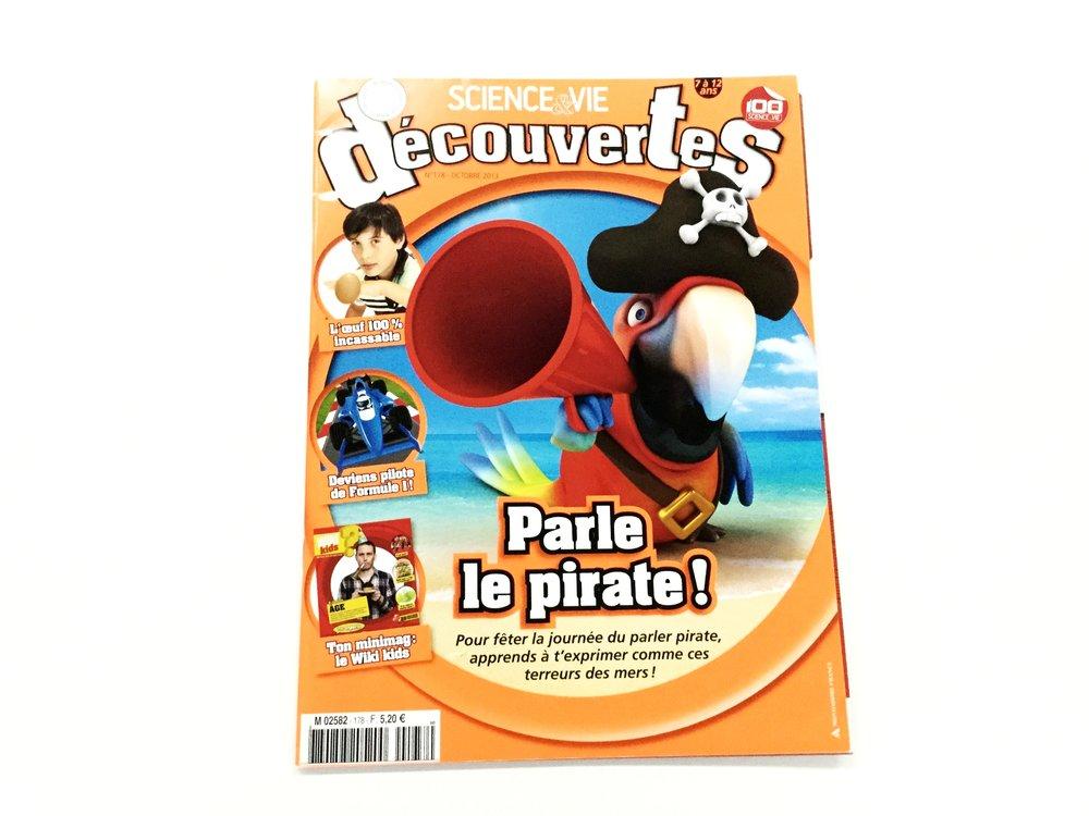 Science & Vie Découvertes (Oct 2013 Cover)