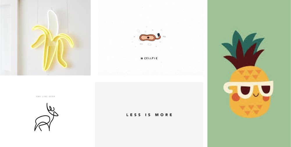 simple, minimal, contemporary