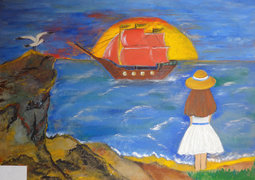 """Scarlet Sails"" - Anastasiya, Russia"