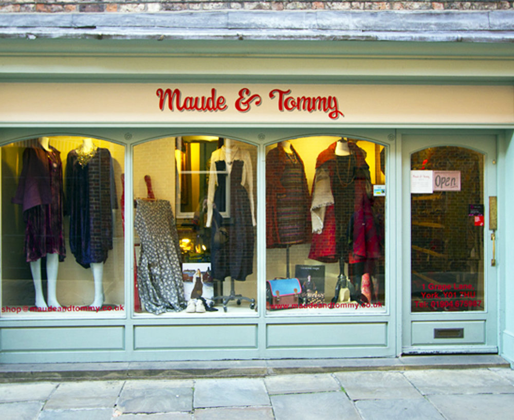 Maude & Tommy - 1 Grape LaneYorkNorth Yorkshire YO1 7HUTel: 01904 675987