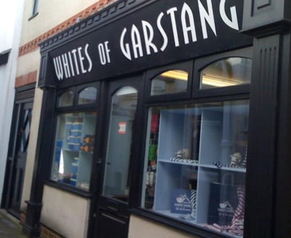 Whites of Garstang - 49-50 Market PlaceGarstang PrestonLancashire PR3 1ZATel: 01995 600742
