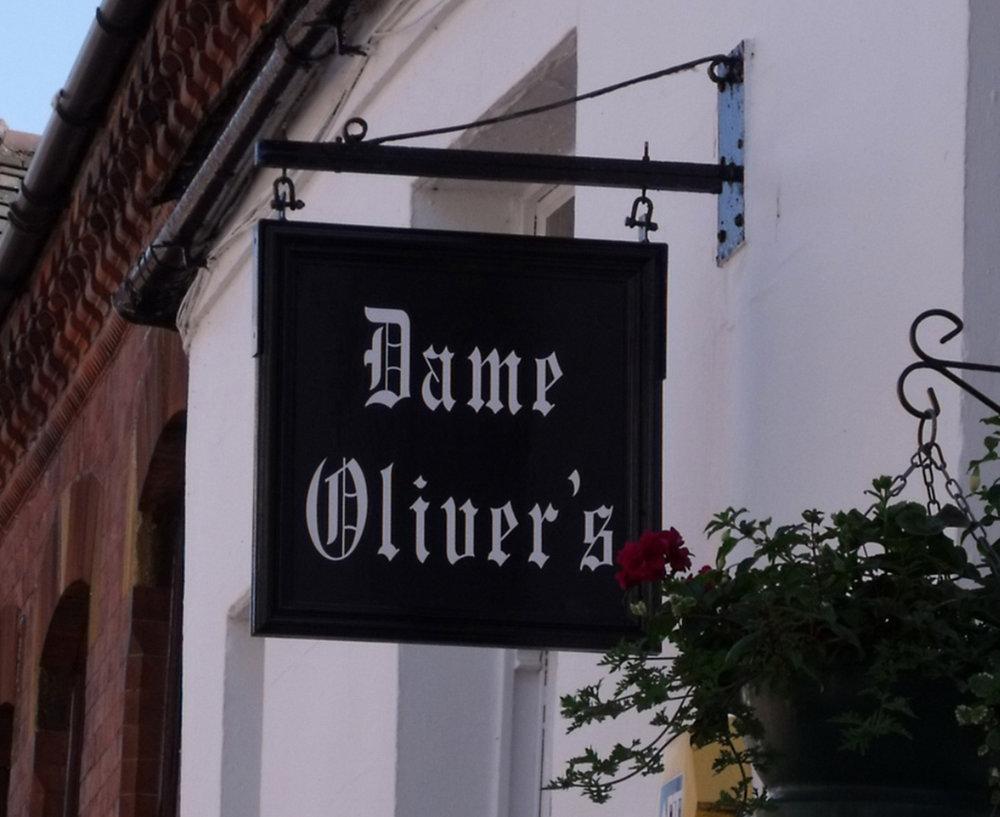 Dame Oliver's - 19 Dam StLichfieldStaffordshire WS13 6AETel: 01543 256600