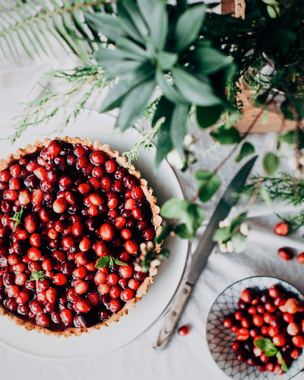 Cranberries - Ingredient of the monthCranberries are the deep-red, tart fruit of a low, scrubby, woody bog plant.Make them into a tart sauce to accompany duck, pair with brie or mushrooms or make a delicious autumnal tart.