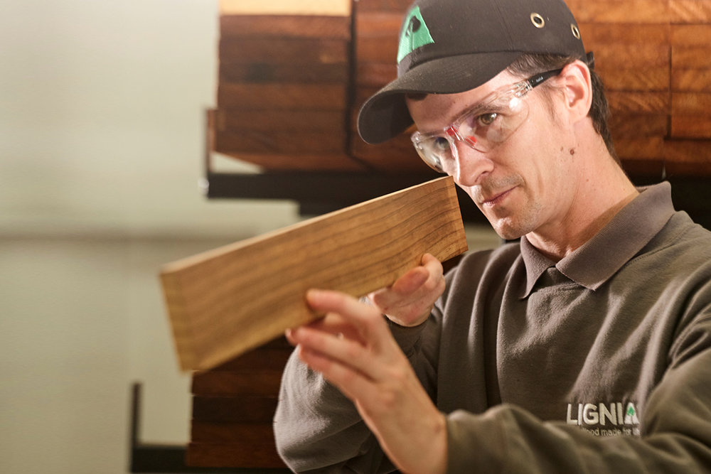 About us - We are the LIGNIA Wood Company, a British-based manufacturing business that over several years has developed and fine-tuned a unique and patent-pending process for modifying softwoods into timber with all the performance and visual aspects of hardwoods.