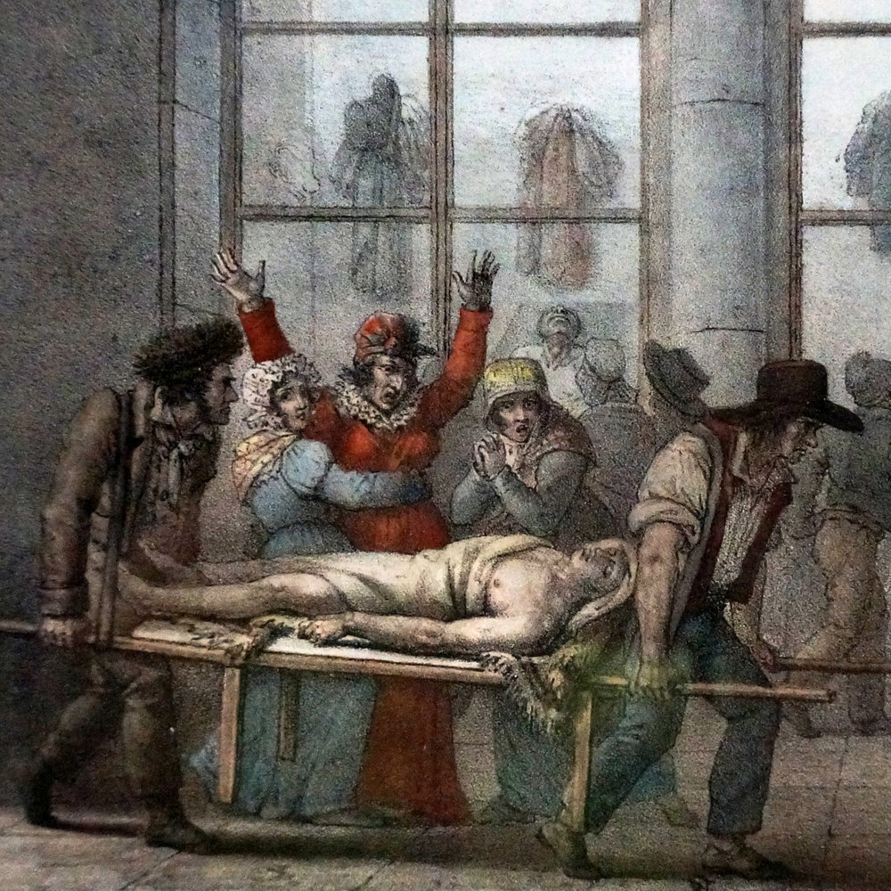 Paris Morgue