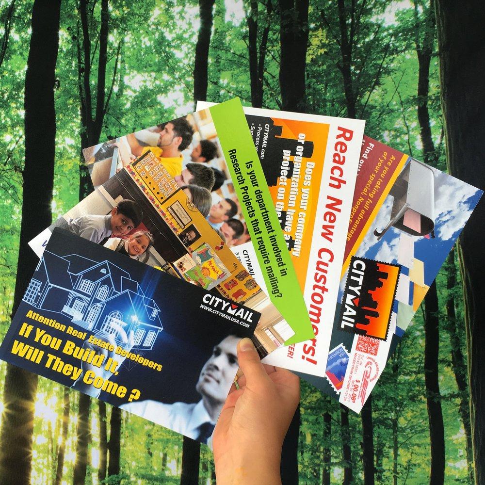 Starting at just 24¢—Postcards are an affordable way to launch you direct mail marketing campaign! -