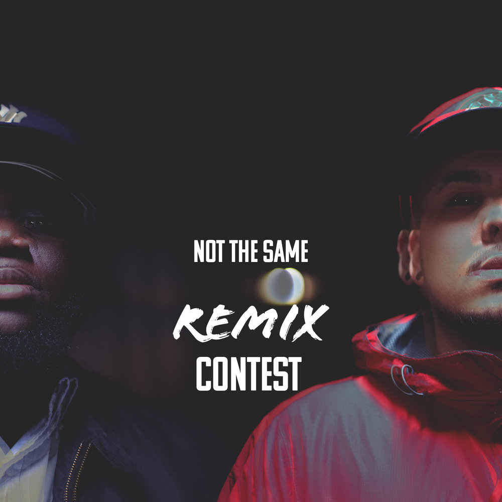Not The Same Remix Cover.jpg