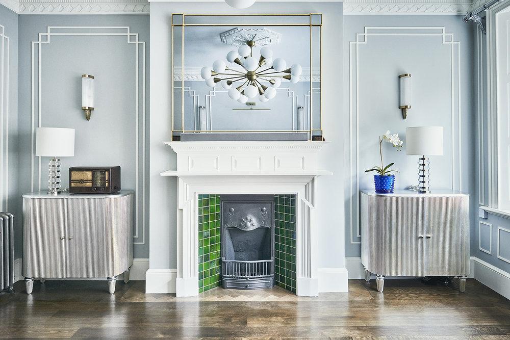 Bloomsbury apartment -
