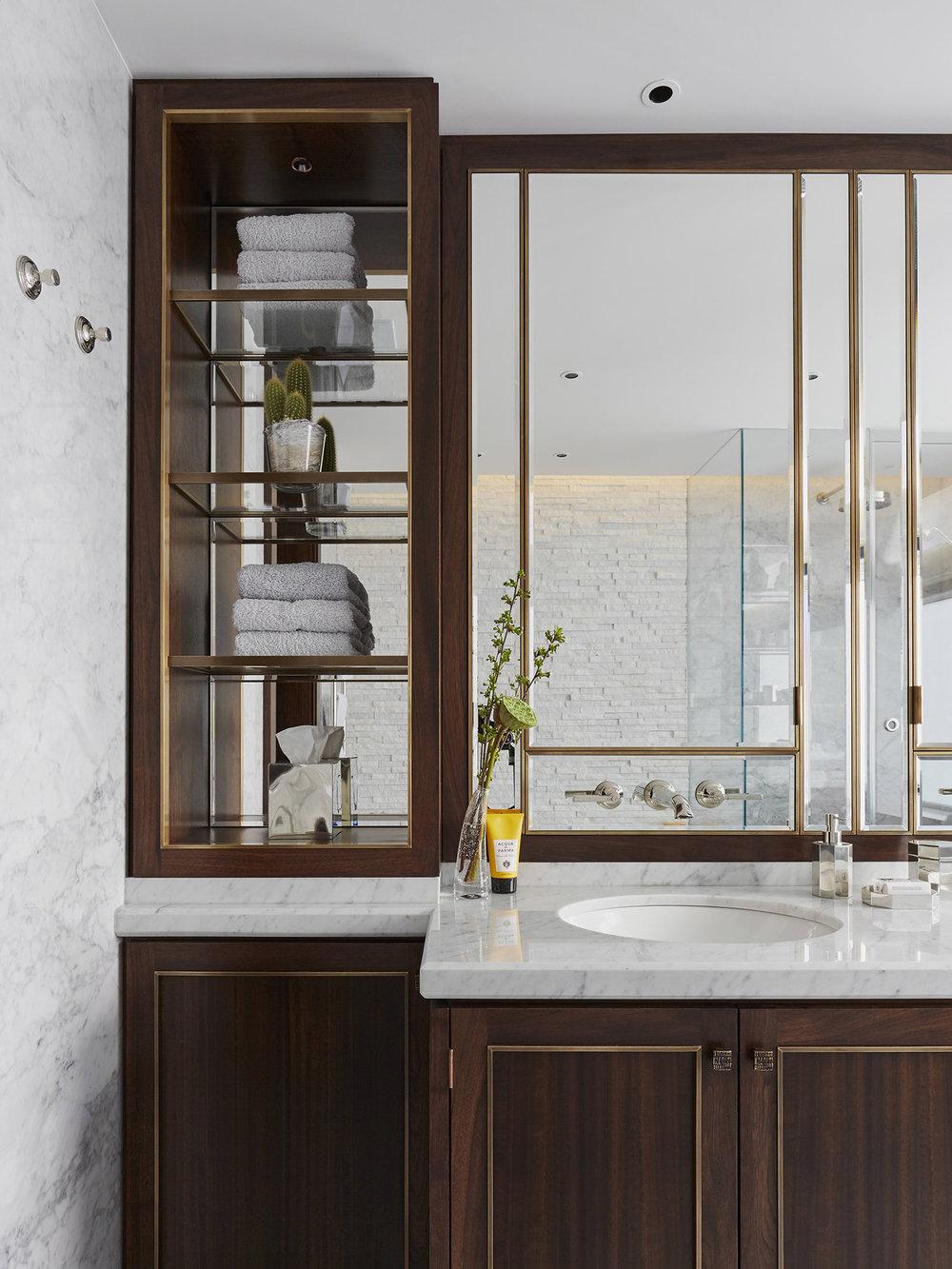 Bathroom Interior Design Bespoke Cabinets Mallet London