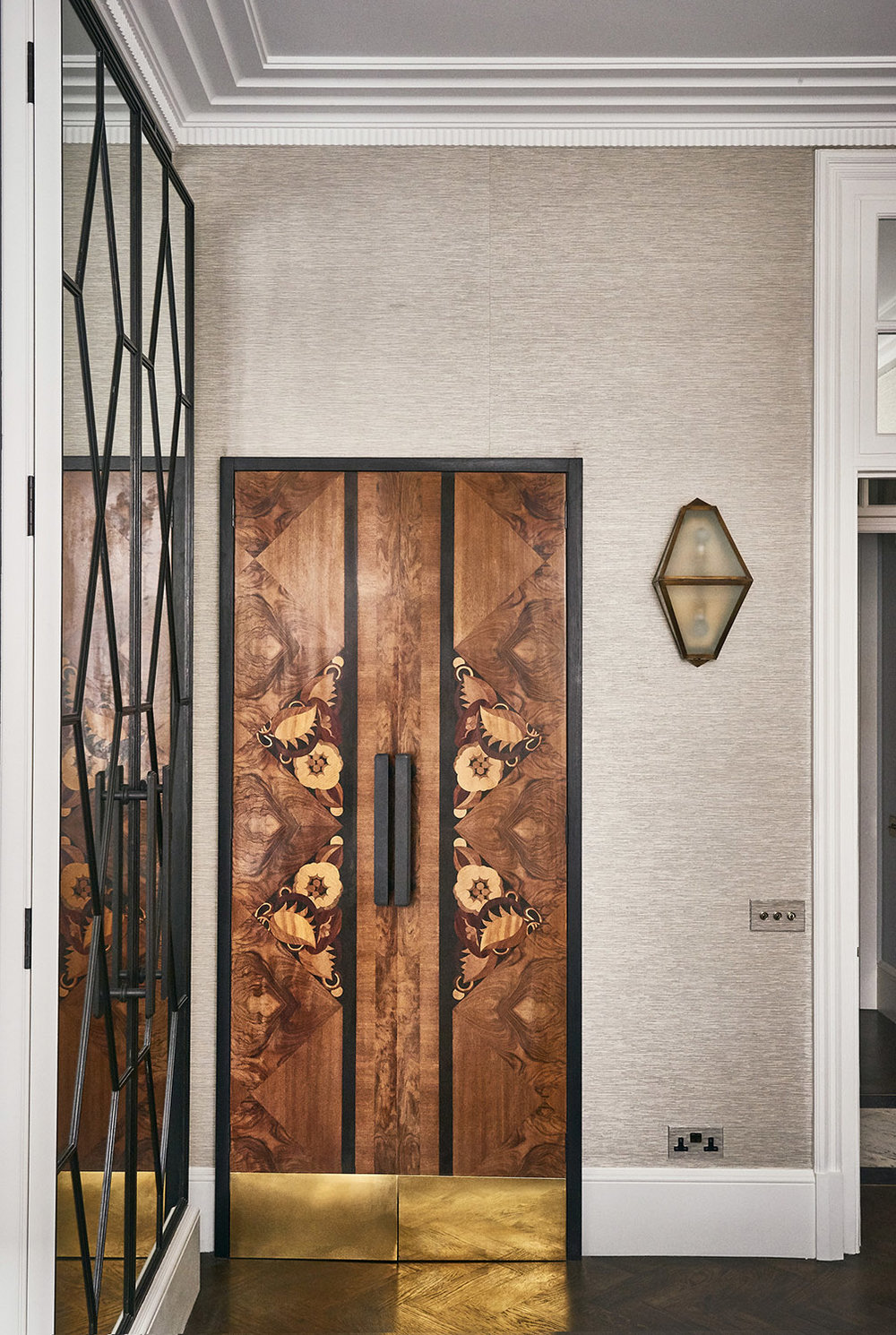 Bespoke Art Deco Style Doors Mallet London
