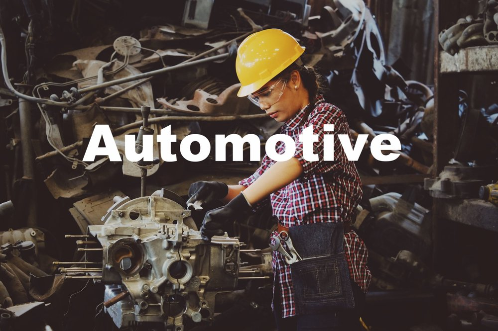 With experience in virtually every aspect of the value chain, including product development, manufacturing, purchasing and supply, as well as branding, distribution, and retailing, we bring a hands-on expertise to automotive and assembly clients that spans major vehicle systems, assembly and component groups. From OEMs to supplies to machinery partners, we can help make substantial improvements in performance.