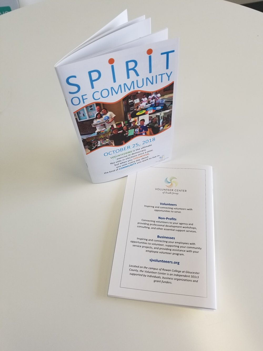 Programs & Booklets - Sponsors love to see their ad & brand displayed in event programs! Looking for help with the design & layout of your next program book? We can help!Featured Client: Volunteer Center of South Jersey