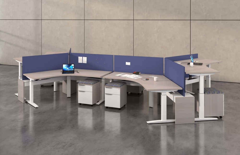 OPEN OFFICES & WORKSTATIONS IDEA 6