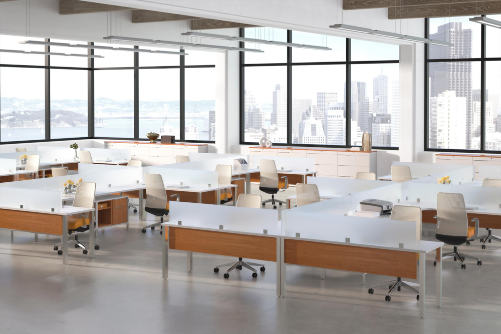 OPEN OFFICES & WORKSTATIONS IDEA 7