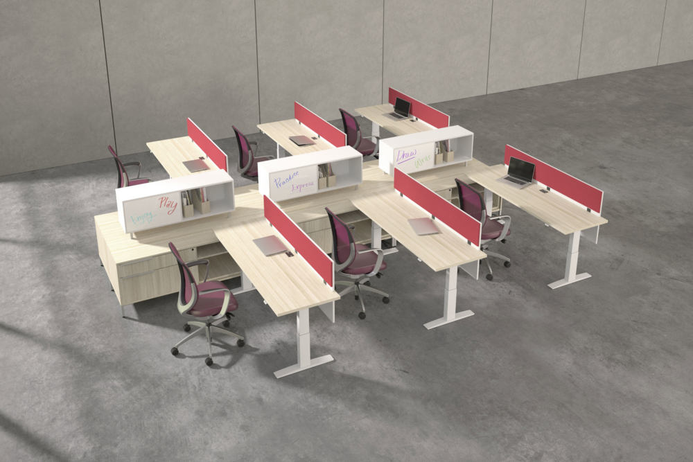 OPEN OFFICES & WORKSTATIONS IDEA 4
