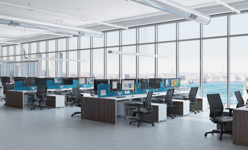 OPEN OFFICES & WORKSTATIONS IDEA 8