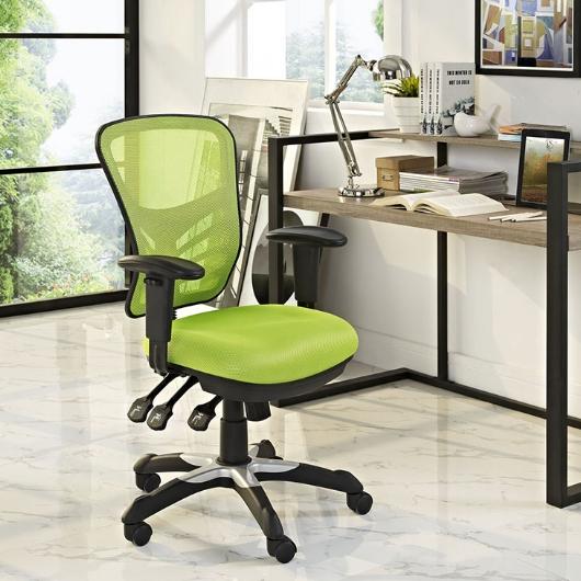 Modway- Articulate Mesh Green Office Chair