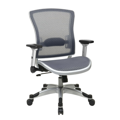 Quick Overview   Space It – Professional Light Air Grid® Manager's Chair