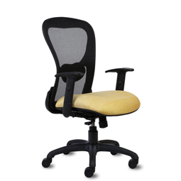 Quick Overview   This Strata Lite Mid-Back Chair can be used for a variety of general office seating, including private office and confrence room seating