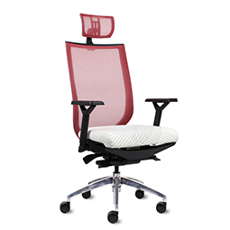 9to5 Aria High Back Task Chair with Headrest   $408