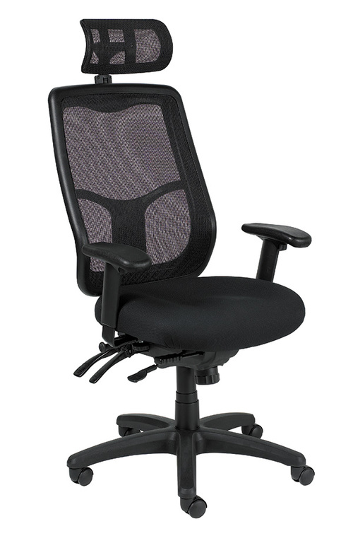 Eurotech Apollo Multi-Function Task Chair with Ratchet Back   $562