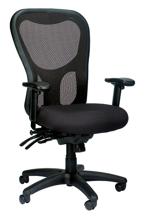 Eurotech Apollo High-Back Multi-Function with Seat Slider Task Chair   $562