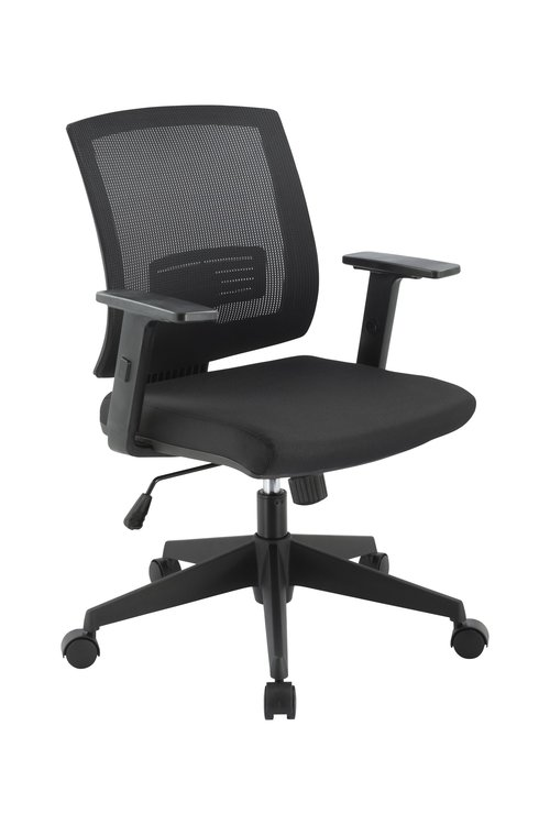 Quick Overview   The user friendly Granite chair, with its uncompromised comfort, offers outstanding fit, proper adjustability and a robust construction at an outstanding price point. Features include tension adjustment, height adjustable seat, height adjustable arms, height adjustable lumbar support and upright back lock that allows the user to fine-tune Granite for optimal comfort and usability. Granite is available with a standard black seat and mesh; optional seat upholstery can be specified.