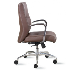 9to5 Cortina Mid-Back Leather Executive Chair   $1333